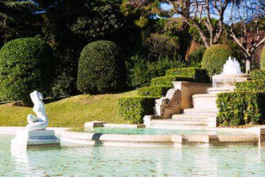 喷泉公园佩德拉尔贝斯皇宫