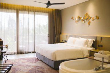 酒店内的奢华卧室
